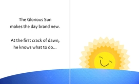 Good Morning Rooster - Introducing the Sun