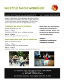 Tai Chi and Health Flier