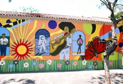 Miramonte Elementary School Mural (Right Side)