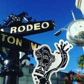 Bravo Negro at Rodeo Drive in Beverly Hills.