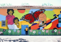Miramonte Elementary School Mural (Left Side)